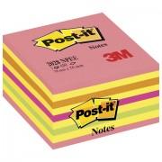 Блок самоклеящийся (стикер) POST-IT ORIGINAL 'Неоновый Розовый' 76х76 мм, 450 л., ассорти, 2028-NPEE